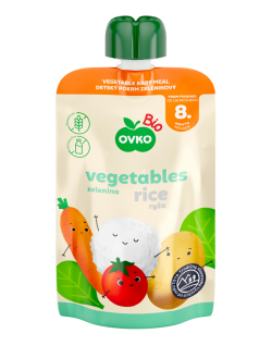 BIO zelenina a ryža